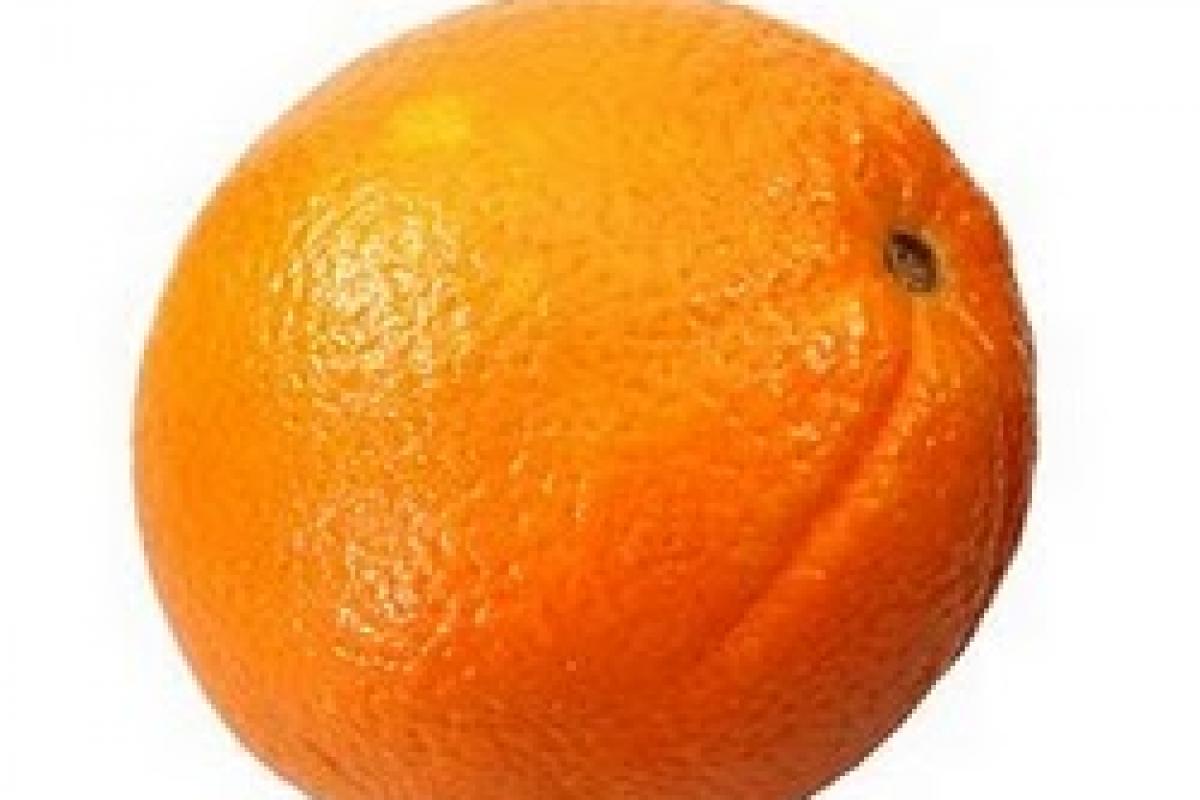 Μέγεθος μωρού: πορτοκάλι!