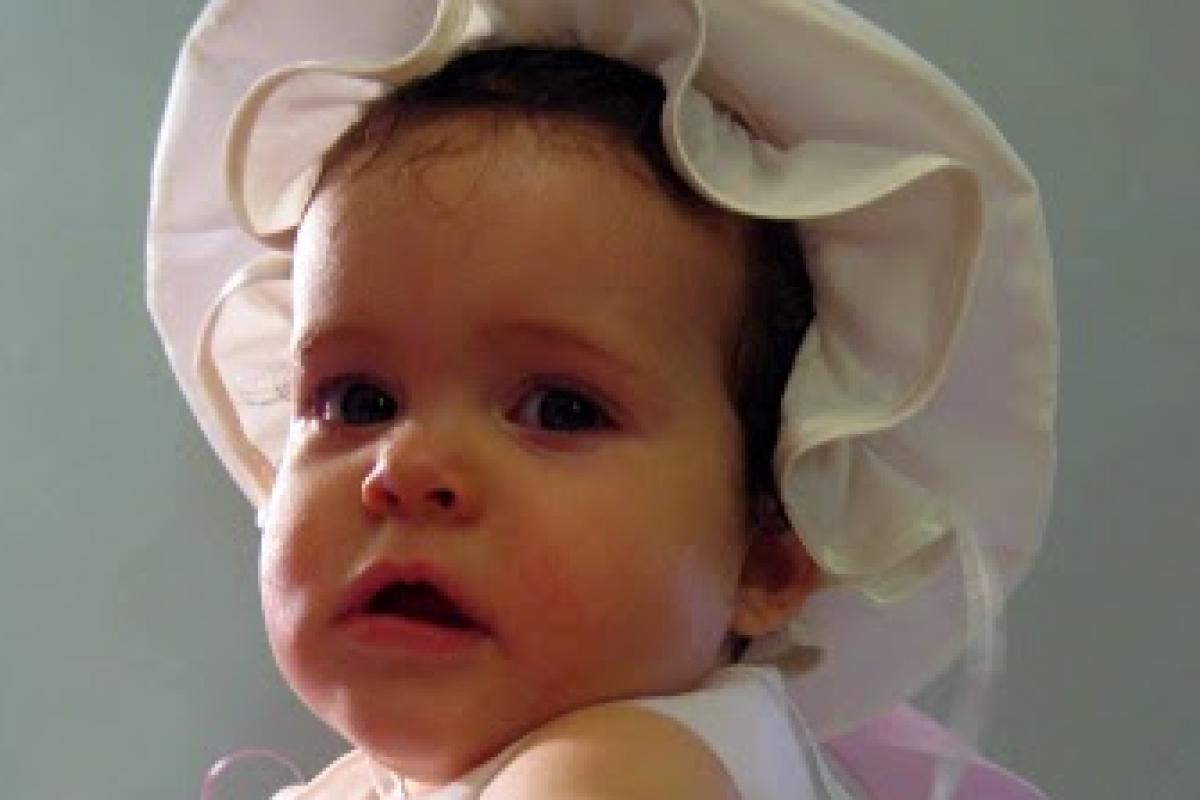 Η βάφτιση της Χαράς Μελίνας!
