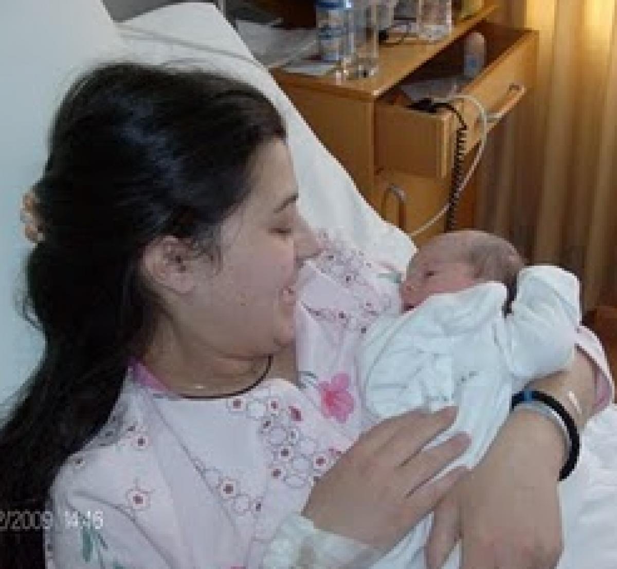 Για πρωτότοκη η γέννα μου ήταν πανεύκολη!