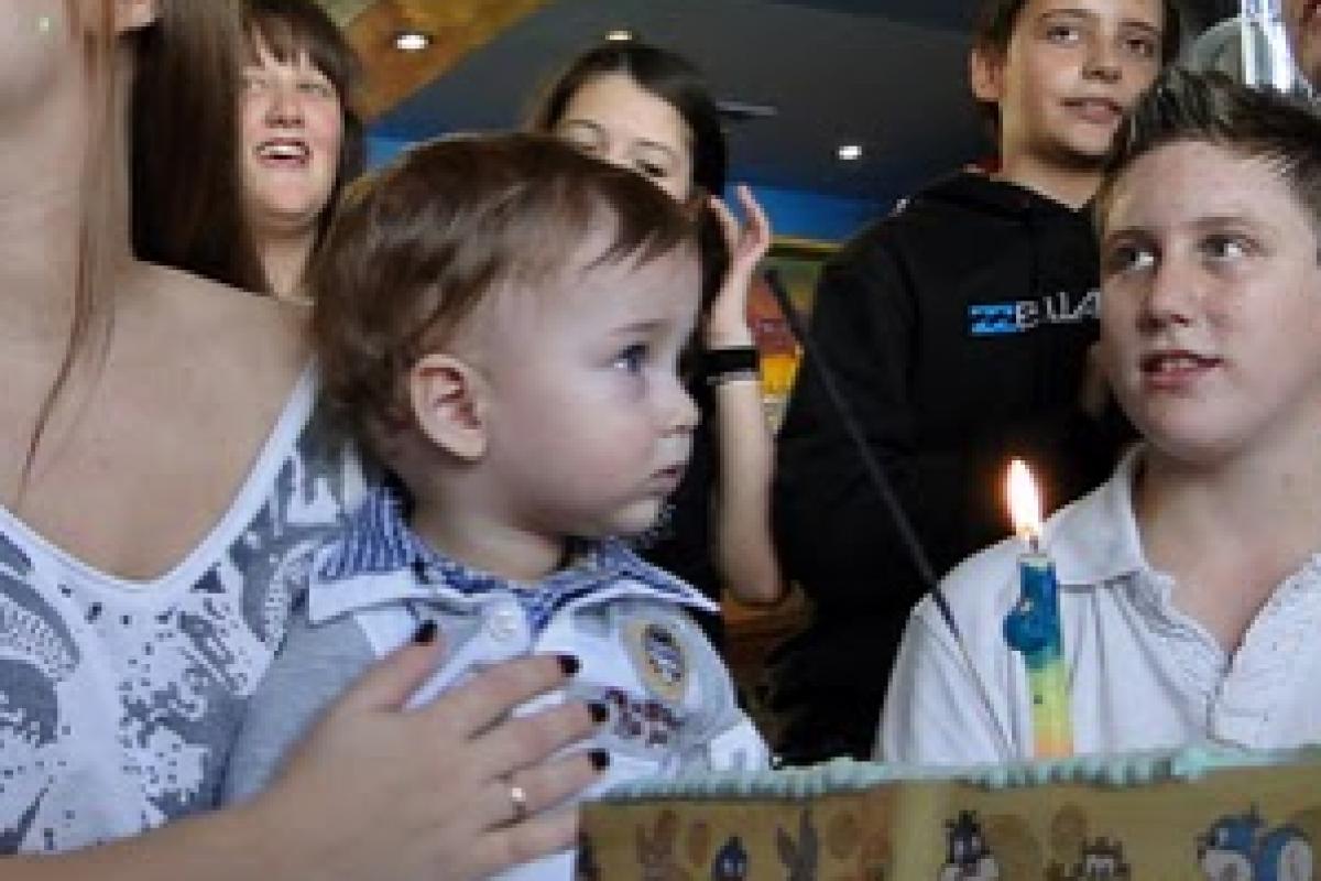 Τα πρώτα γενέθλια του Κωνσταντίνου!