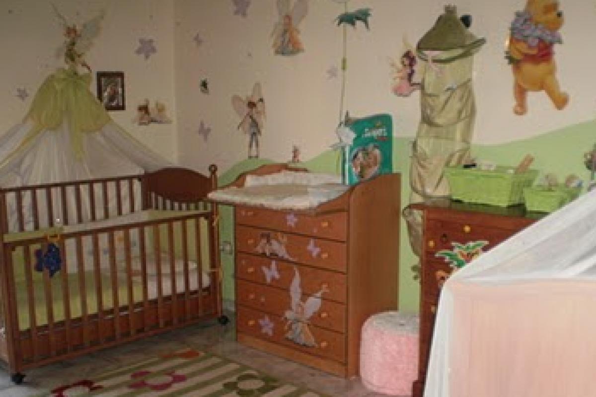 To δωμάτιο της Φαίδρας και του μπέμπη