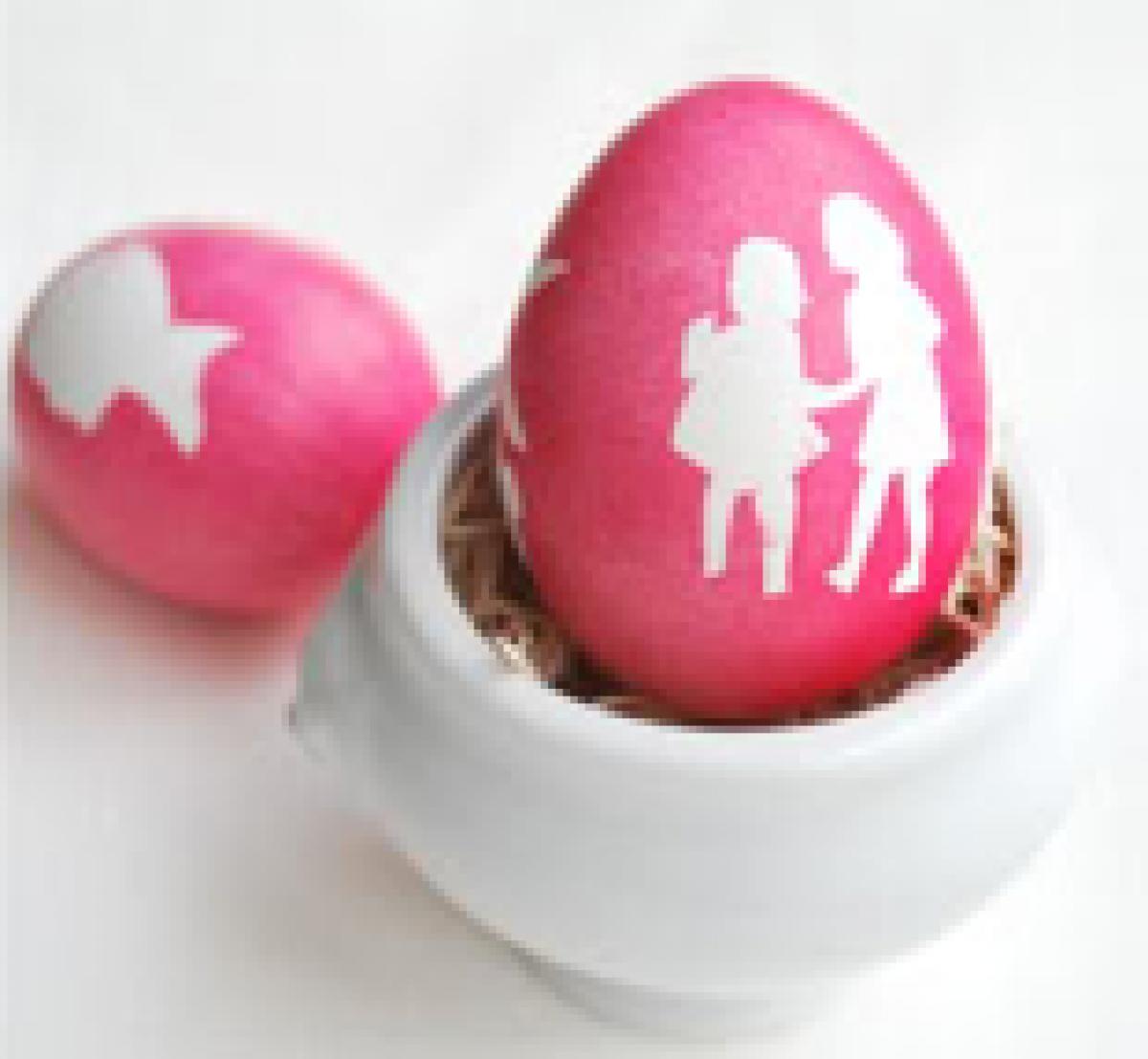 Βάψε τα αβγά με τα σχέδια που θέλεις!