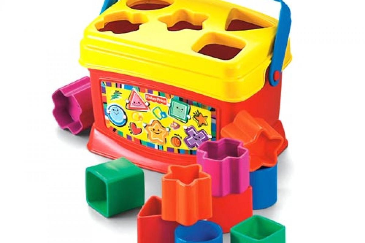 Ένα κουτί με σχήματα για να μάθει το μωρό σου!