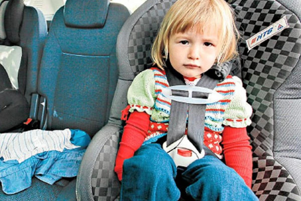 Εξασφαλίζοντας τη μεγαλύτερη δυνατή ασφάλεια των παιδιών στο αυτοκίνητο!
