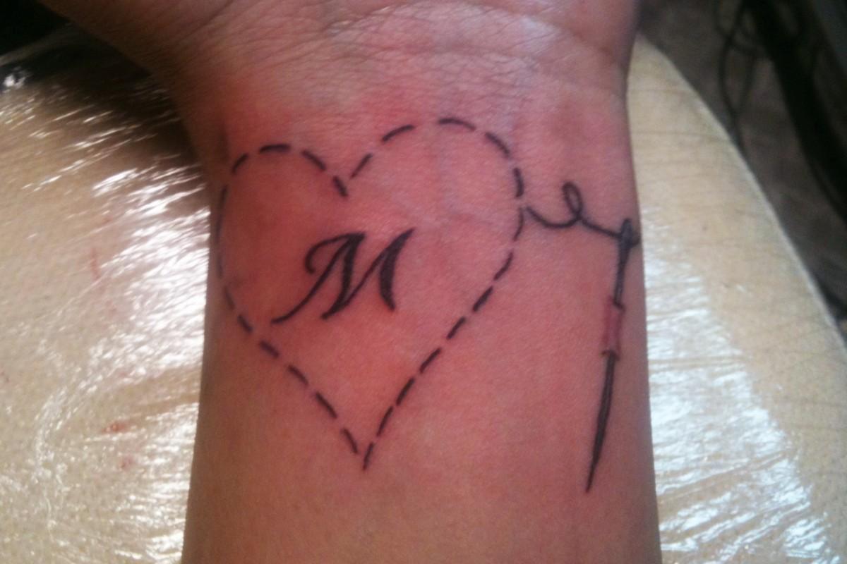 Τατουάζ νούμερο τέσσερα!