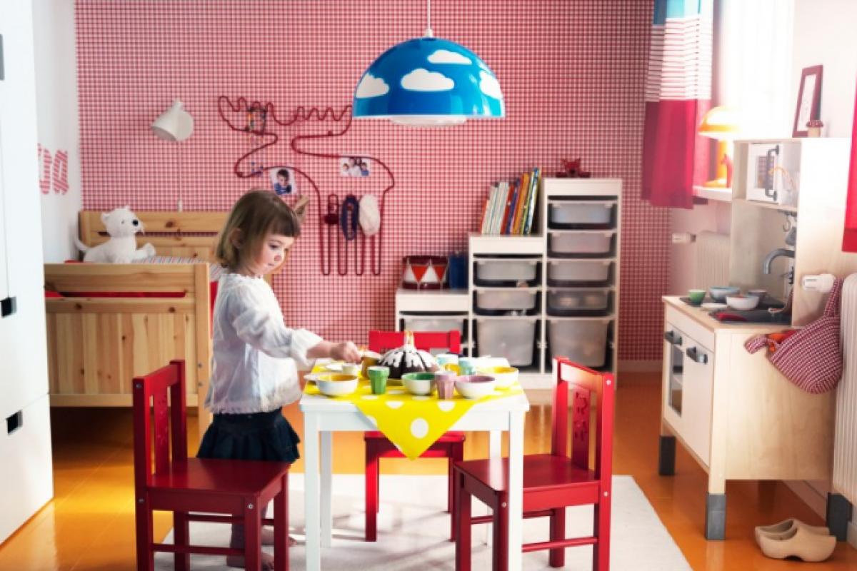 Αποθηκευτικοί χώροι στο παιδικό; Ας γνωρίσουμε τα Trofast!