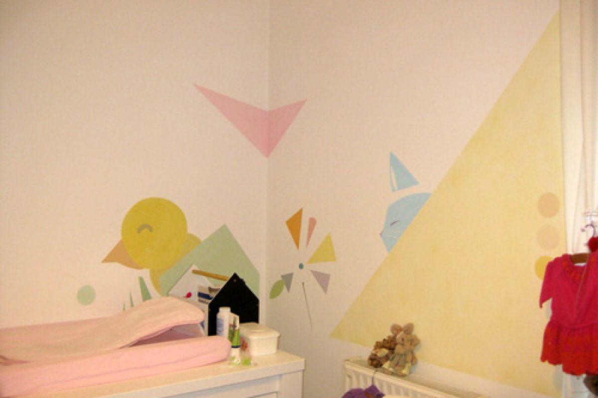 Και άλλα ζωγραφισμένα δωμάτια!
