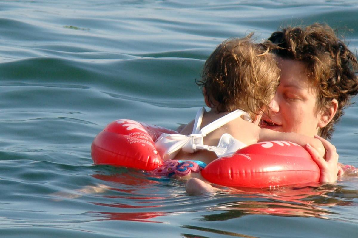Το τρίτο καλοκαίρι με το κόκκινο Swimtrainer μας!