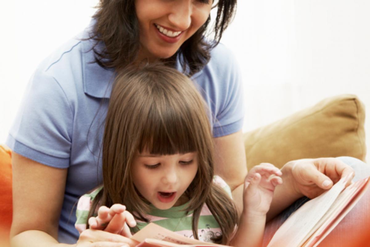 Διαβάζοντας στο παιδί σας