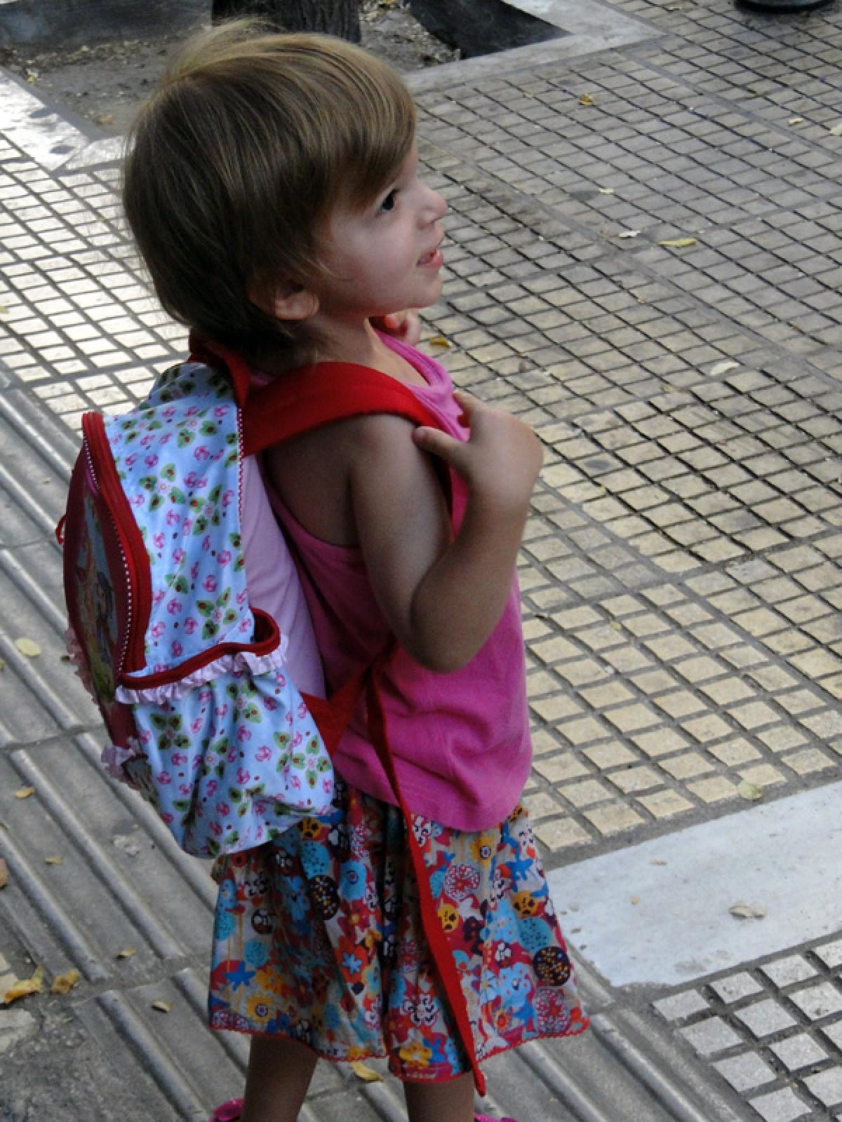Η τσάντα για τον παιδικό σταθμό!