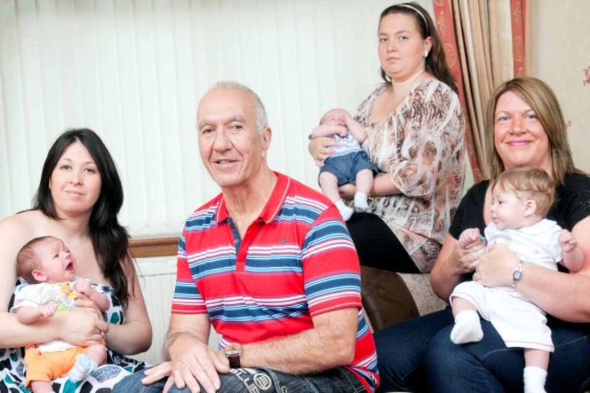 Μπαμπάς, παππούς και προπάππους μέσα σε 3 μήνες!