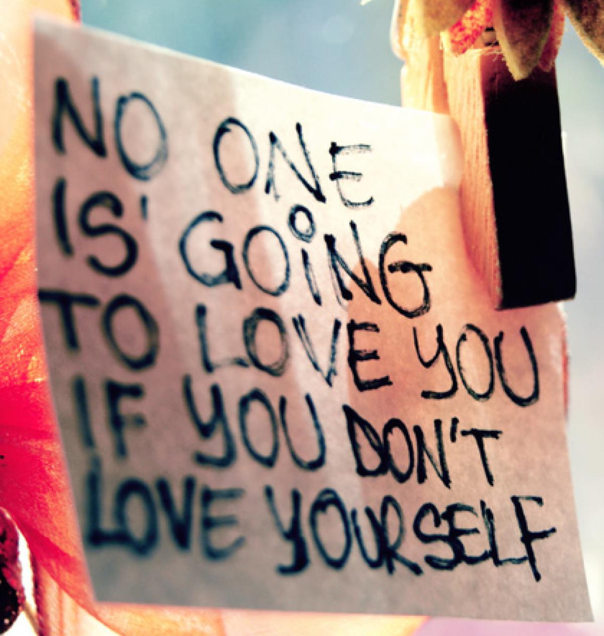 Αγαπήστε τον εαυτό σας!