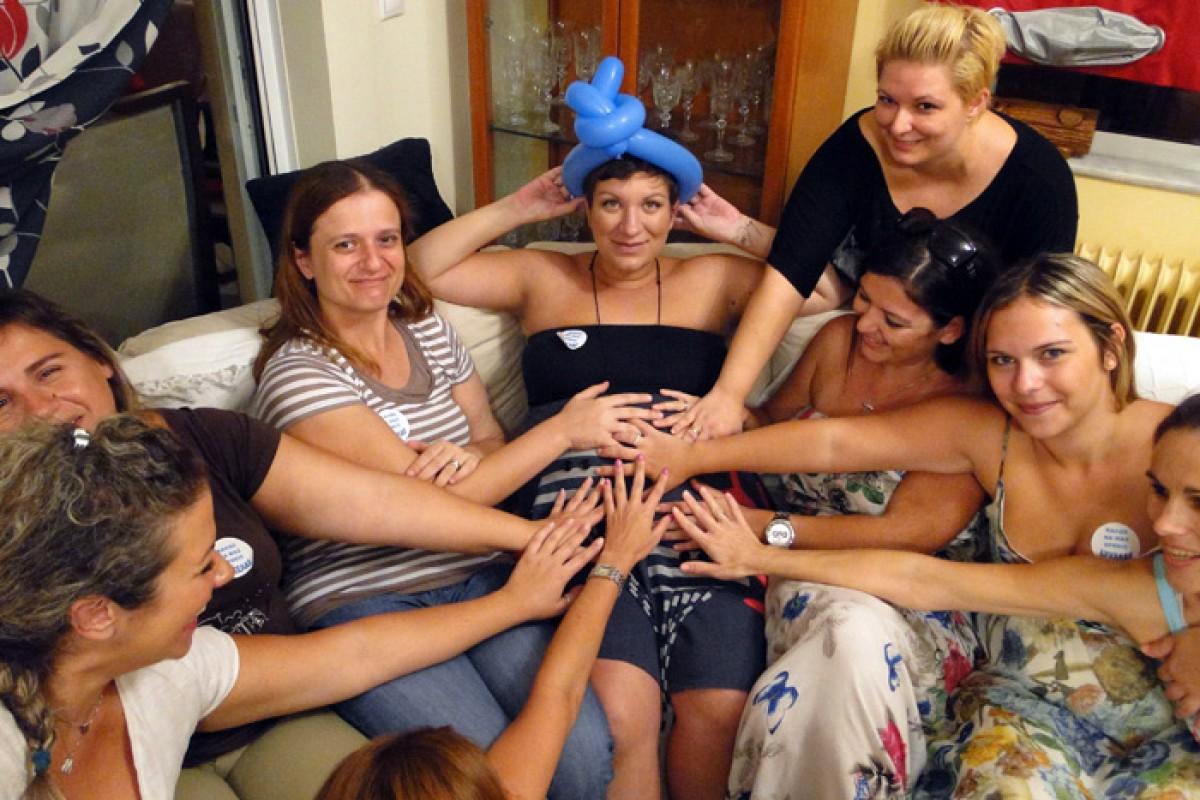 38 εβδομάδων: αρρώστησα! (και ένα ακόμα πάρτι έκπληξη!)