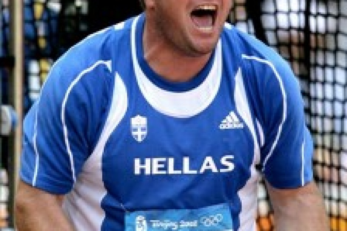 Αθλητισμός : Αλέξανδρος Παπαδημητρίου σφυροβόλος και μπαμπάς