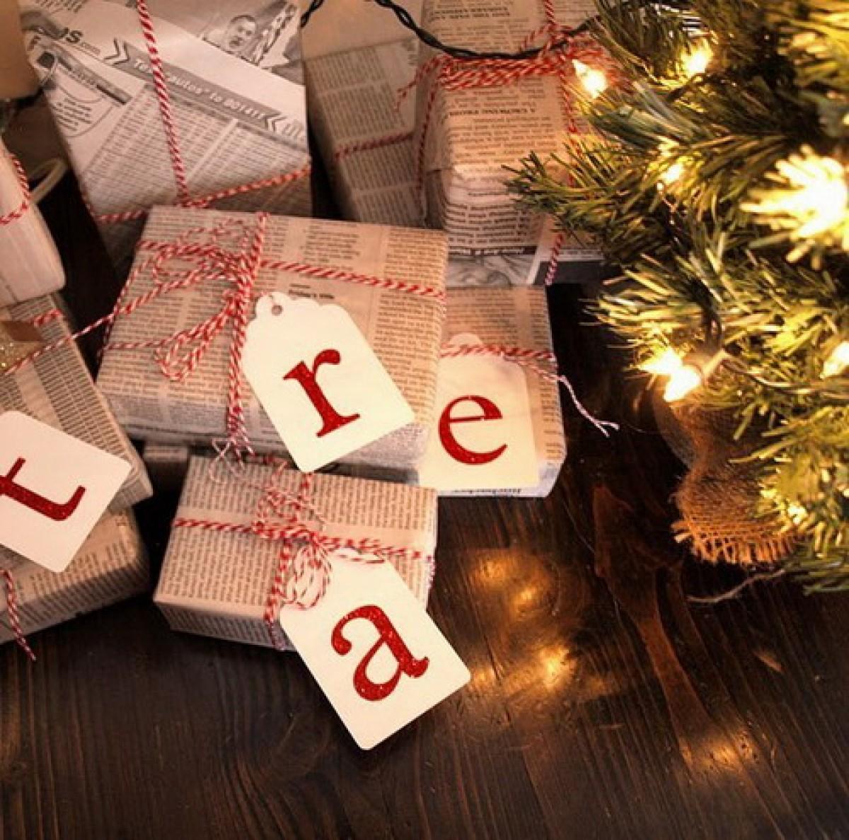 Τυλίγουμε μόνοι μας τα δώρα των γιορτών