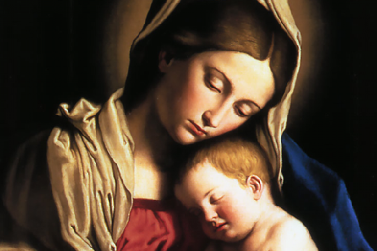 Κάθε μωρό έν' αγγελούδι. Κάθε μαμά μια Παναγιά;
