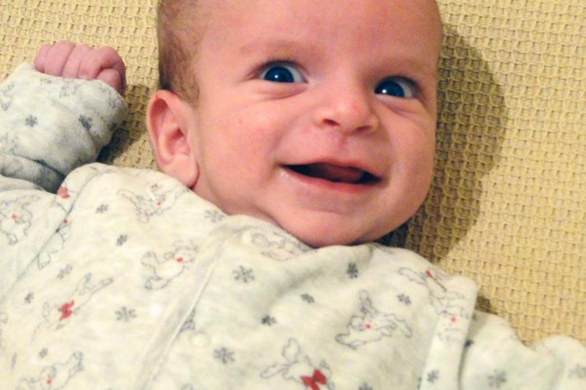 Χαμογελαστό μου μωρό!