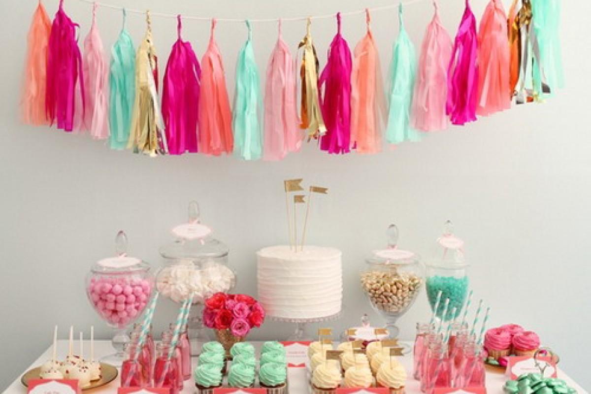 Φτιάξτε το dessert table του πάρτυ σας