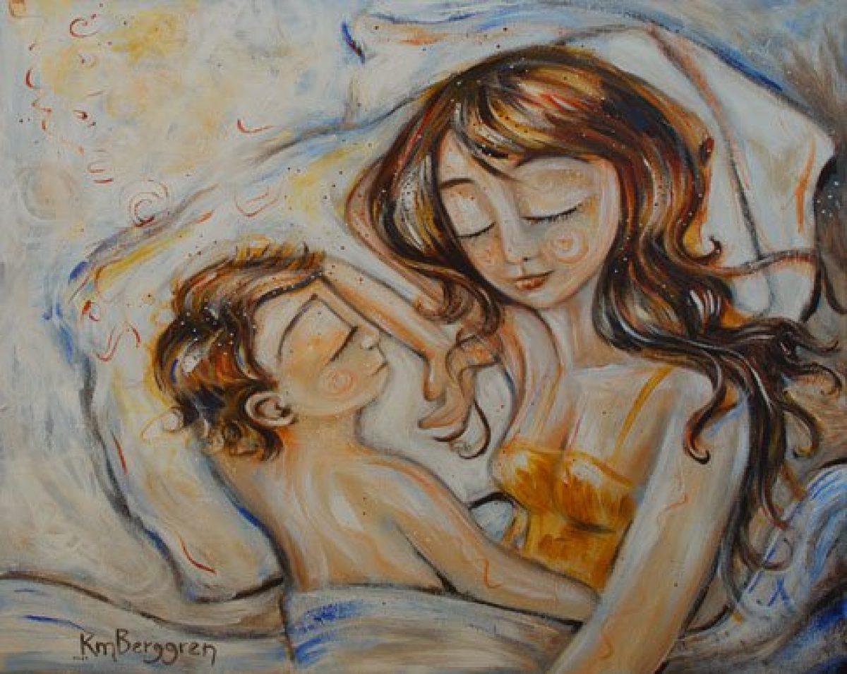 Katie m. Berggren, η ζωγράφος της μητρότητας