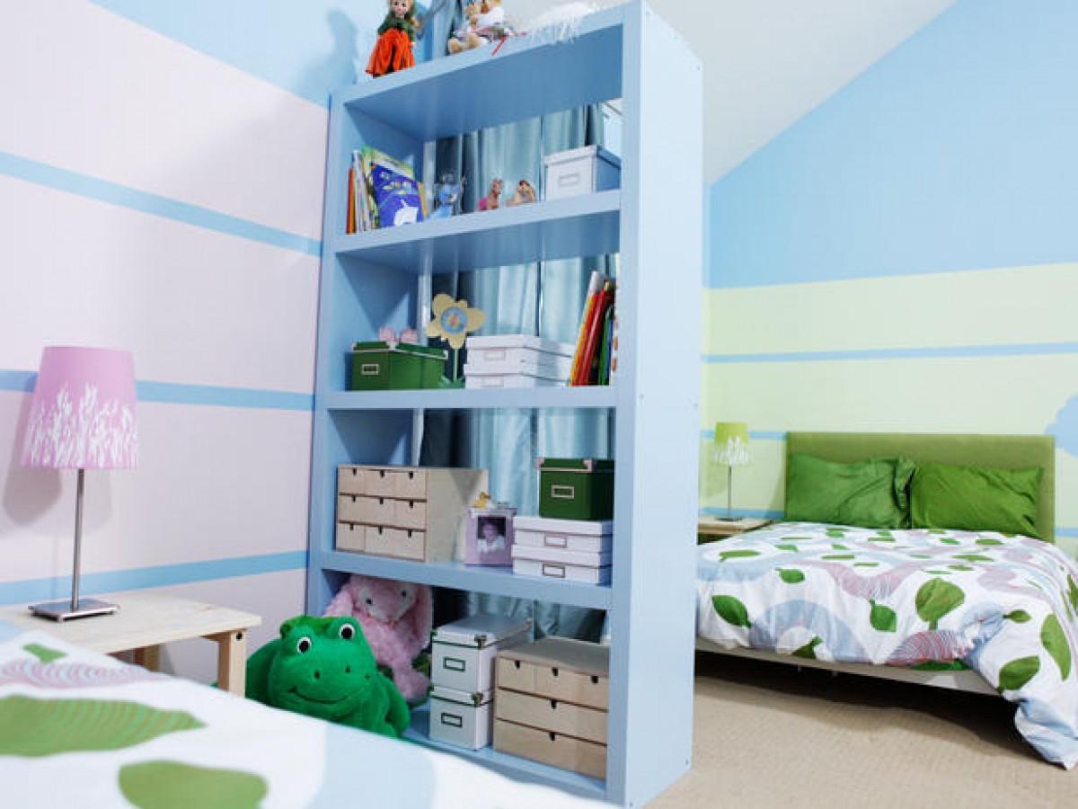 d38003d3f5b Ιδέες για διακόσμηση κοινού παιδικού δωματίου για αγόρι & κορίτσι ...
