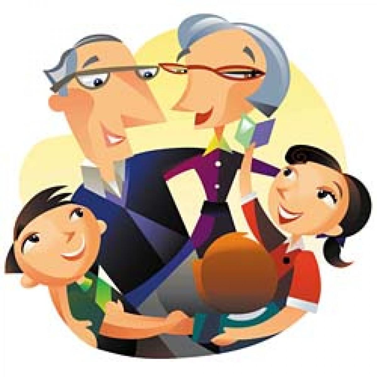 Παιδιά τυχερά… με παππού και γιαγιά!
