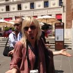 Η ξεναγός που μας συνόδευσε το tour
