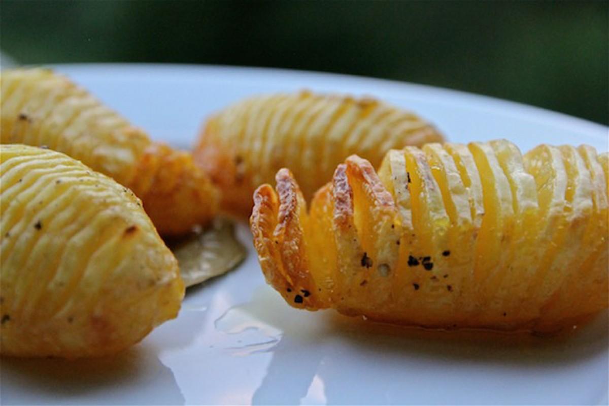 Φτιάξτε πατάτες ακορντεόν!