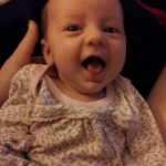 Το υγιέστατο κοριτσάκι που γεννήθηκε τον Ιούνιο του 2013.
