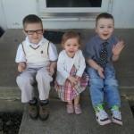 Τα τρία μεγαλύτερα παιδάκια της Stephanie.