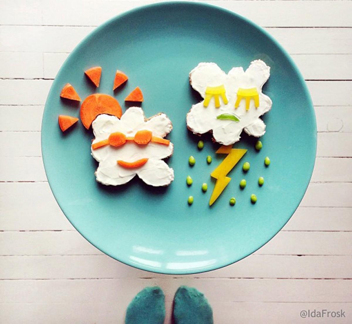 Τέχνη στο πιάτο!