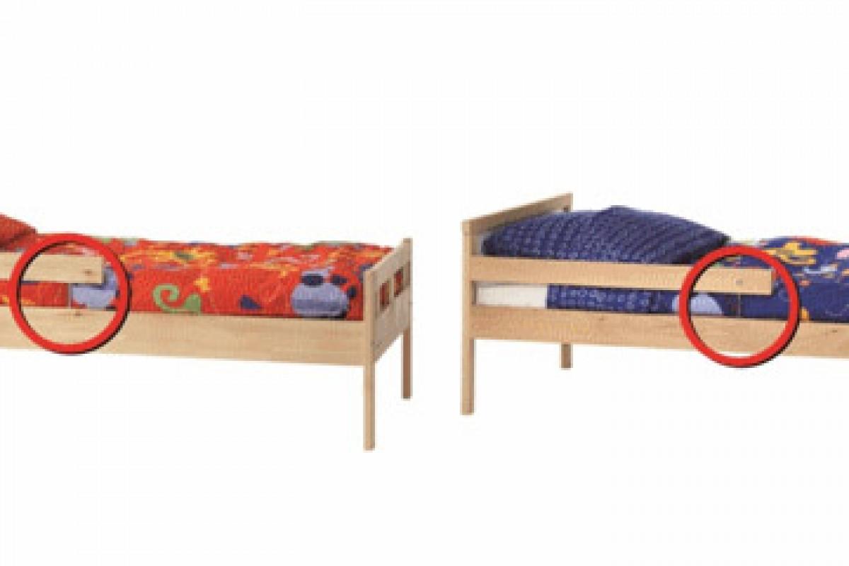 Η ΙΚΕΑ ανακαλεί προς επισκευή αριθμό νεανικών κρεβατιών KRITTER και SNIGLAR λόγω κινδύνου τραυματισμού