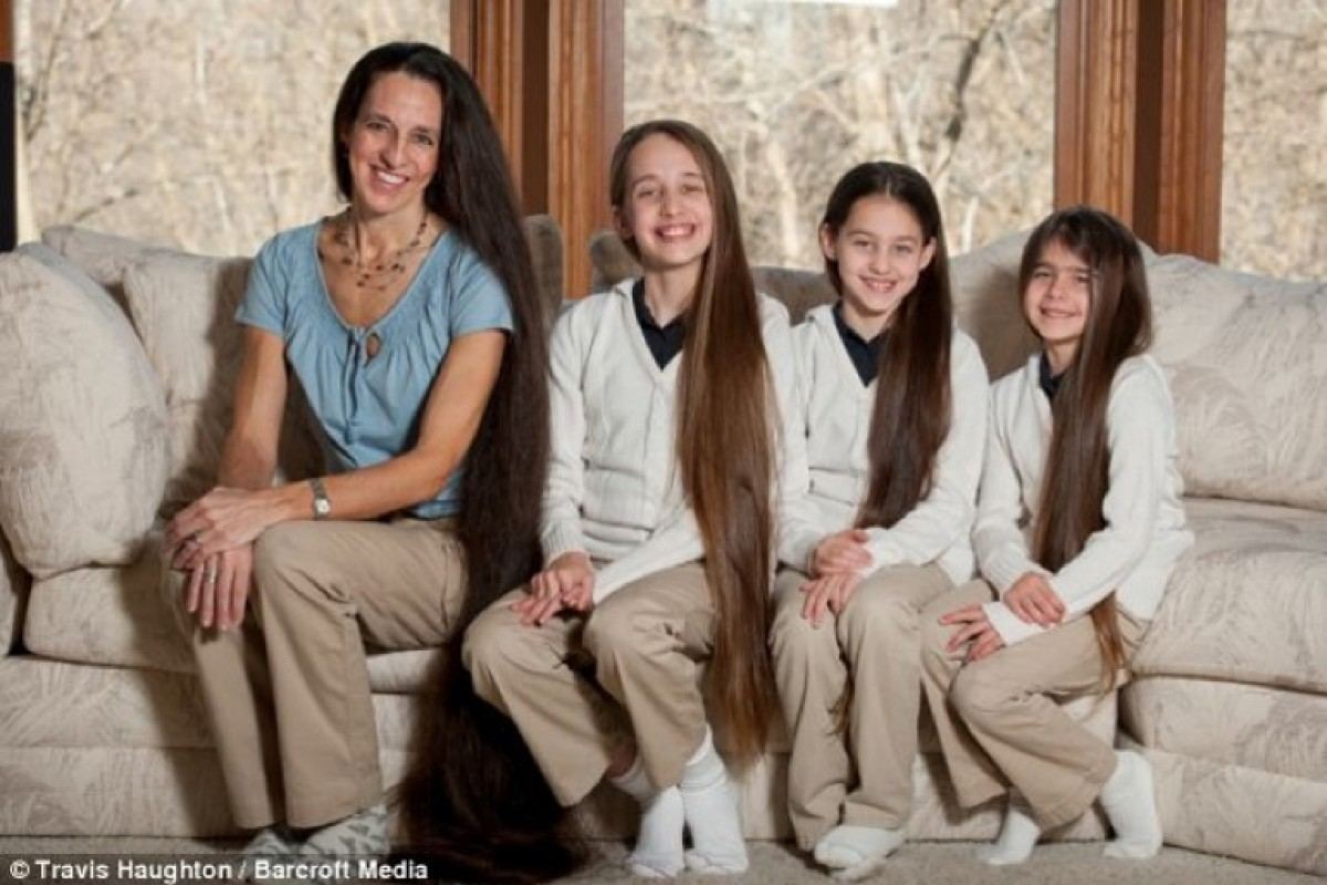 Η οικογένεια Ραπουνζέλ!
