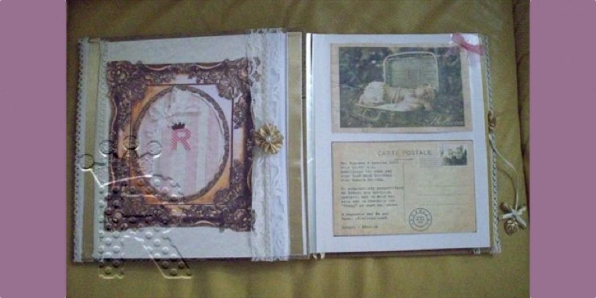 H (εξ' ολοκλήρου) DIY Vintage Βάπτιση της Ρεβέκκας!