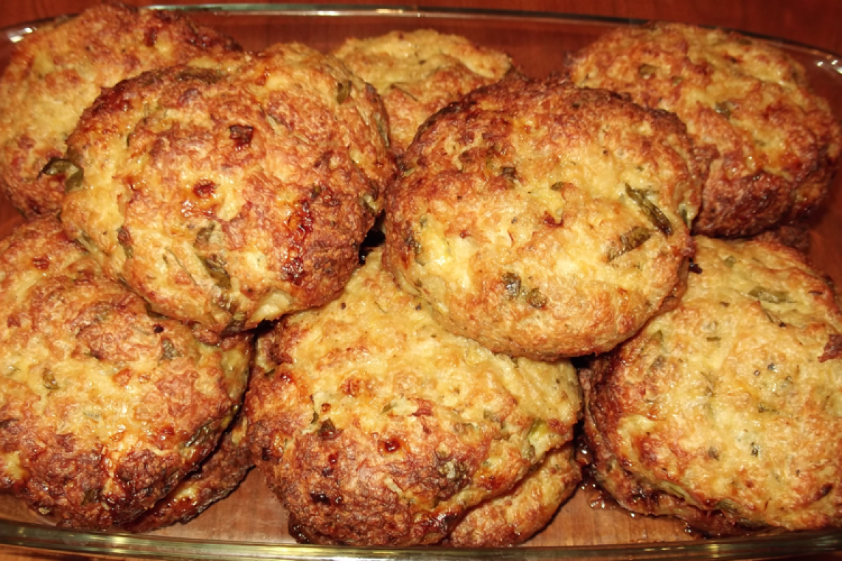 Μπιφτέκια κοτόπουλο στο φούρνο