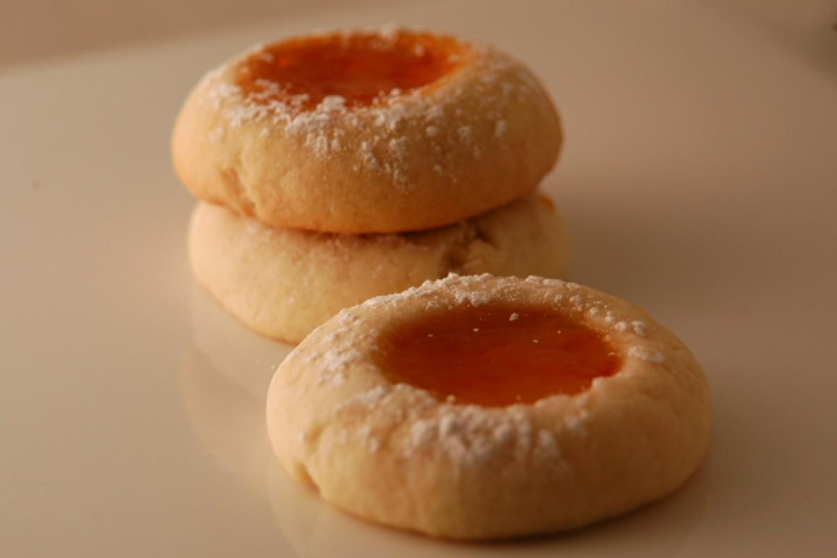 Μπισκότα σπιτικά με μαρμελάδα…. ιδανικά για παιδιά!