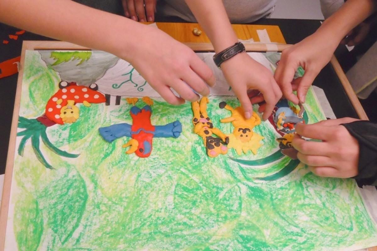 Εργαστήρια κινούμενης εικόνας για παιδιά!