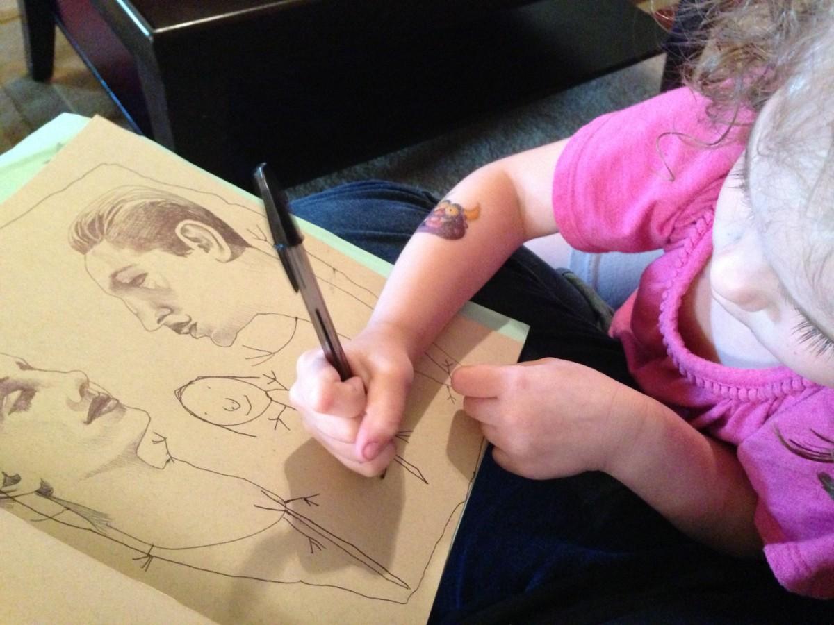 Οι φανταστικές δημιουργίες μιας μαμάς-καλλιτέχνιδος με την 4χρονη κόρη της