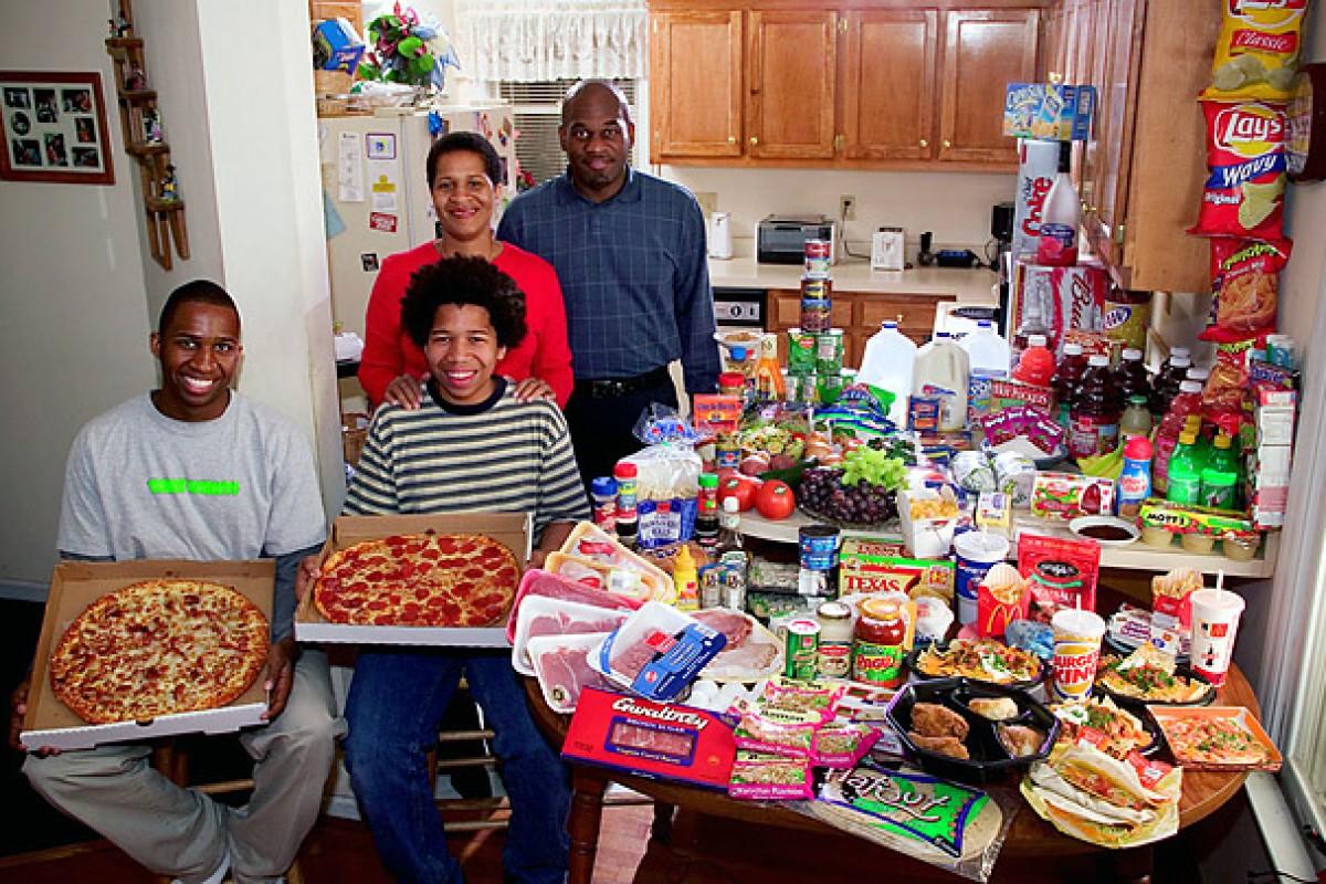 Το φαγητό της εβδομάδας στα νοικοκυριά του κόσμου