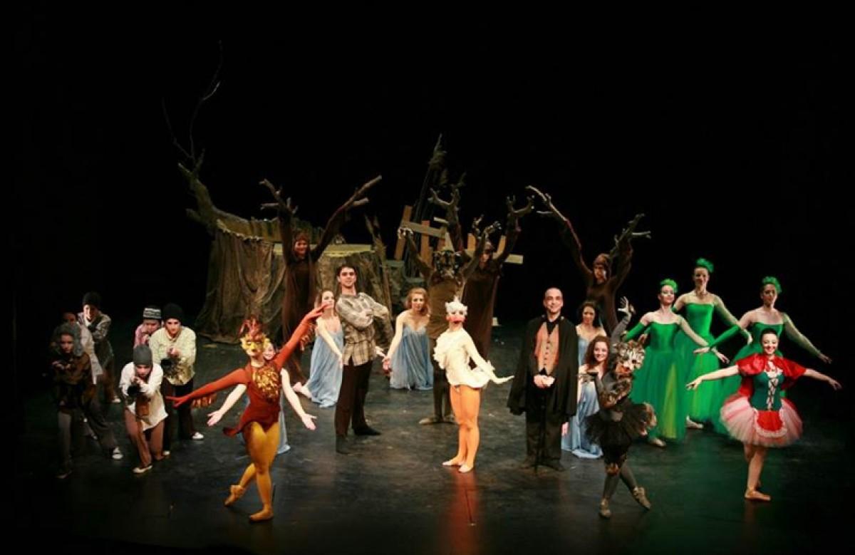 Χοροθεατρική παράσταση για παιδιά «Ο Πέτρος και ο Λύκος»