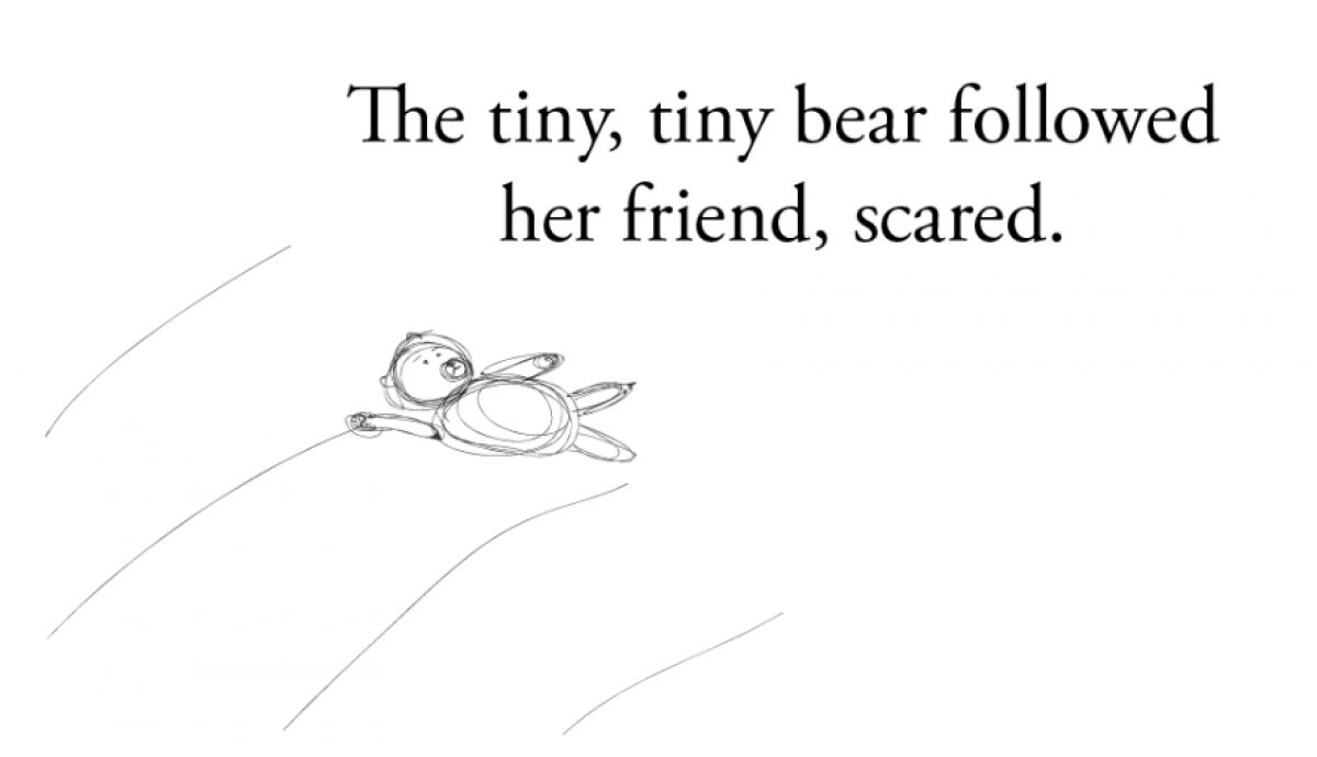 Μια μικρή, μικρή αρκούδα (μια μικροσκοπική ιστορία)