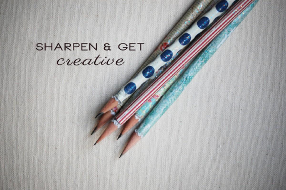 Φτιάξτε πανέμορφα μολύβια με 2 εύκολους τρόπους