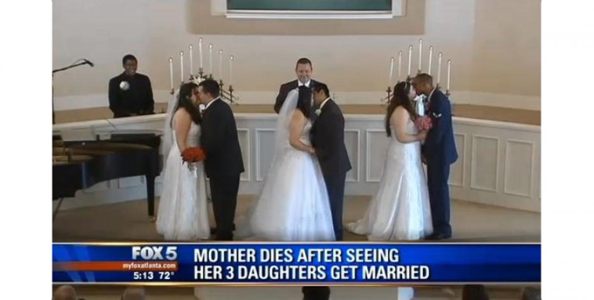 Πρόλαβε να δει και τις τρεις της κόρες να παντρεύονται λίγο πριν φύγει από τη ζωή
