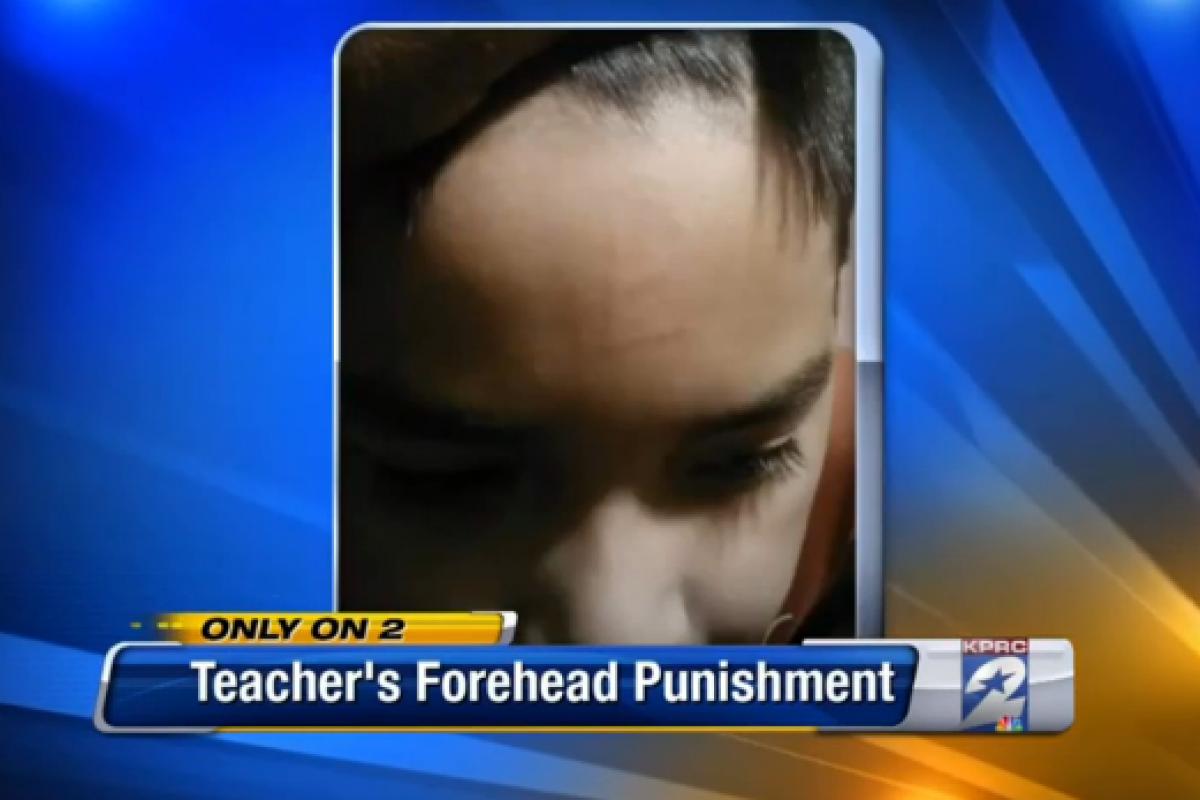 Δάσκαλος τιμωρούσε τους μαθητές του, σημειώνοντας στο… μέτωπό τους με μαρκαδόρο!