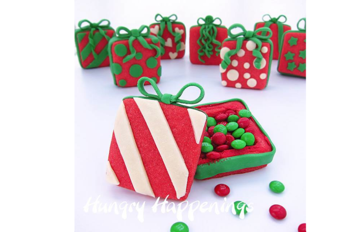Χριστουγεννιάτικα μπισκοτοδωράκια