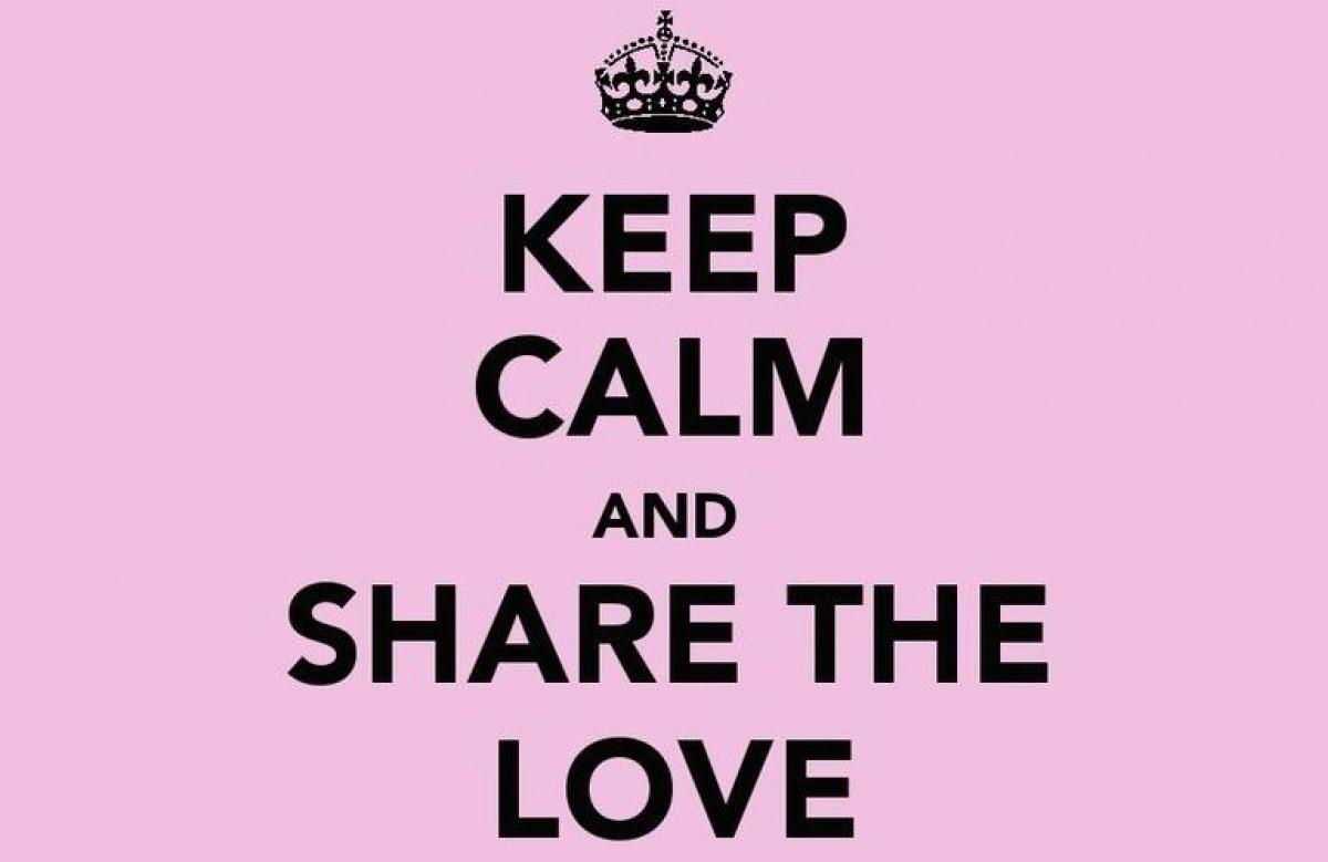 Δώστε αγάπη όπως εγώ!