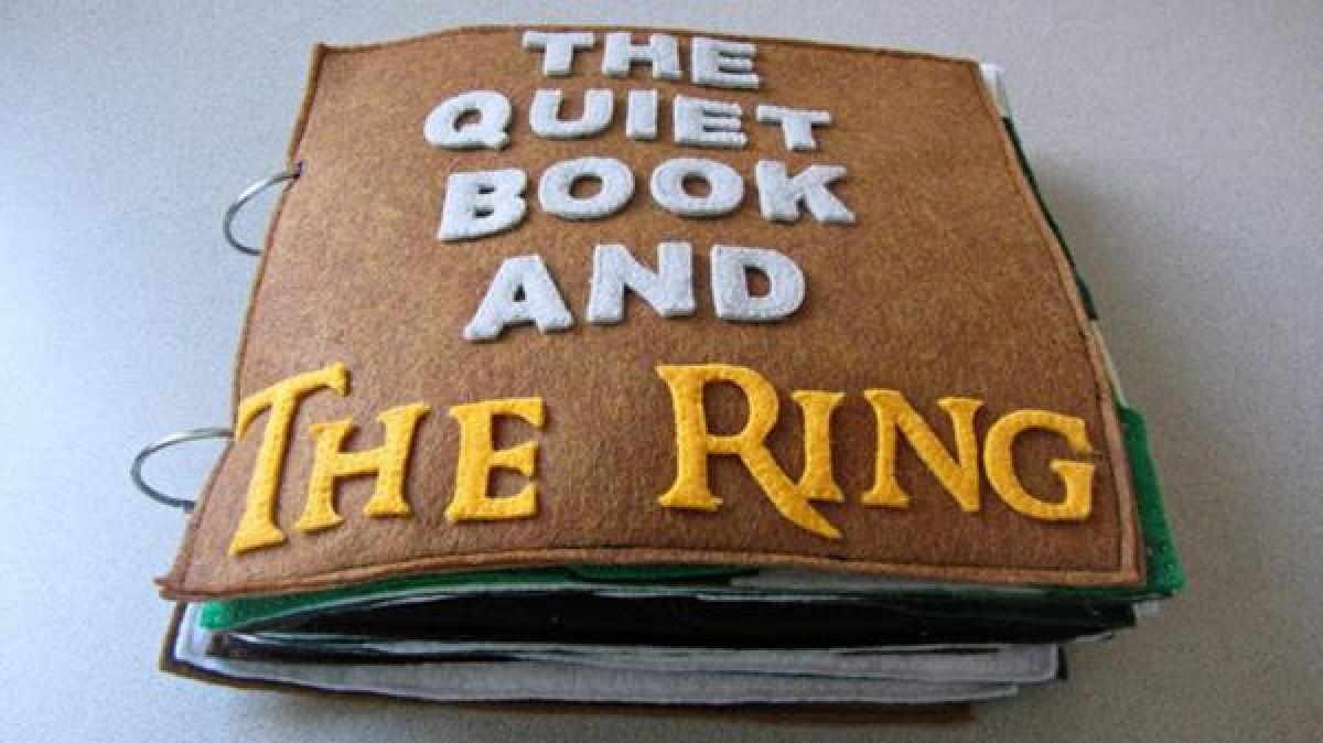 Φτιάξτε ένα βιβλίο με τον Άρχοντα των Δαχτυλιδιών για το μικράκι σας
