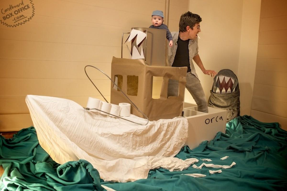 Απίστευτοι γονείς αναπαριστούν κινηματογραφικές σκηνές με το μωρό τους