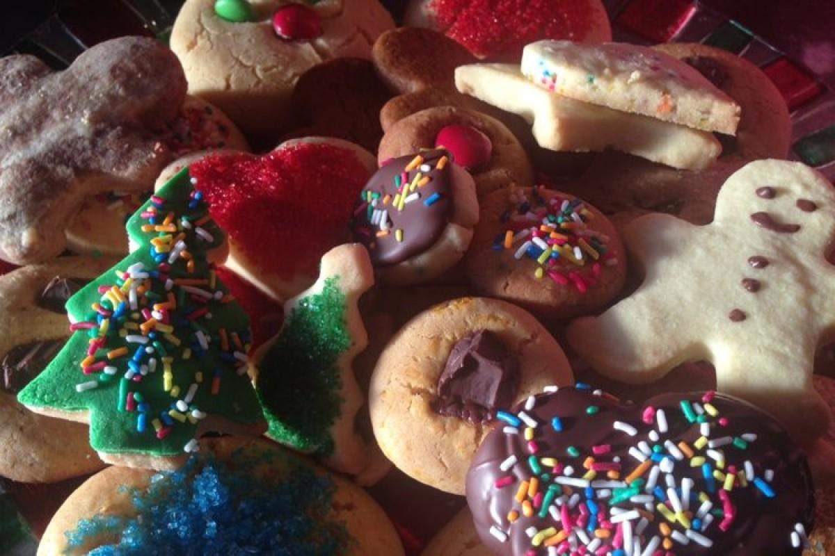 Τα χριστουγεννιάτικα μπισκότα μου!