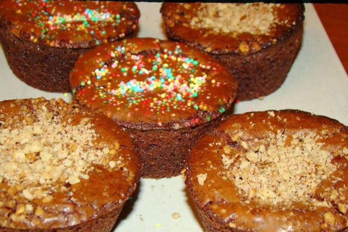 Φανταστικά σοκολατένια brownies μόνο με 3 υλικά