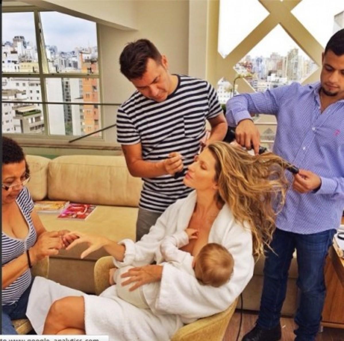 Διάσημες μαμάδες δείχνουν στη Gisele την αληθινή πλευρά της μητρότητας